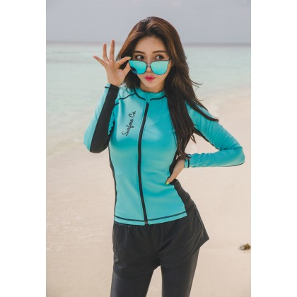 5IN1 Blue Sky Diving Swimsuit
